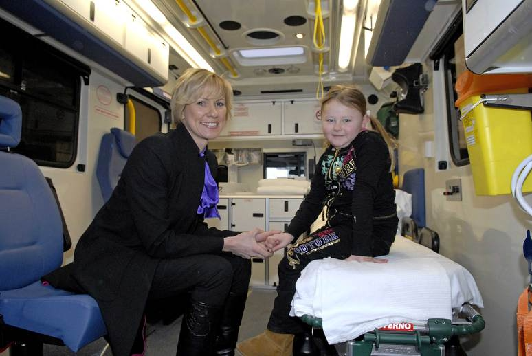 Charity Donates Money for Specialist Medical Equipment