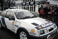 Rallying with Group B Raise �14,000 for the Colin McRae Vision