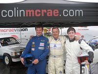 Colin McRae Vision At The Scottish Motor show, Knockhill