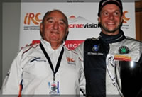 Loix handed Colin McRae IRC Flat Out Trophy